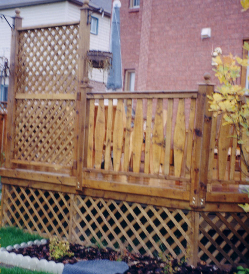 Flex·fence louvered hardware for fences, decks , pergolas, hot